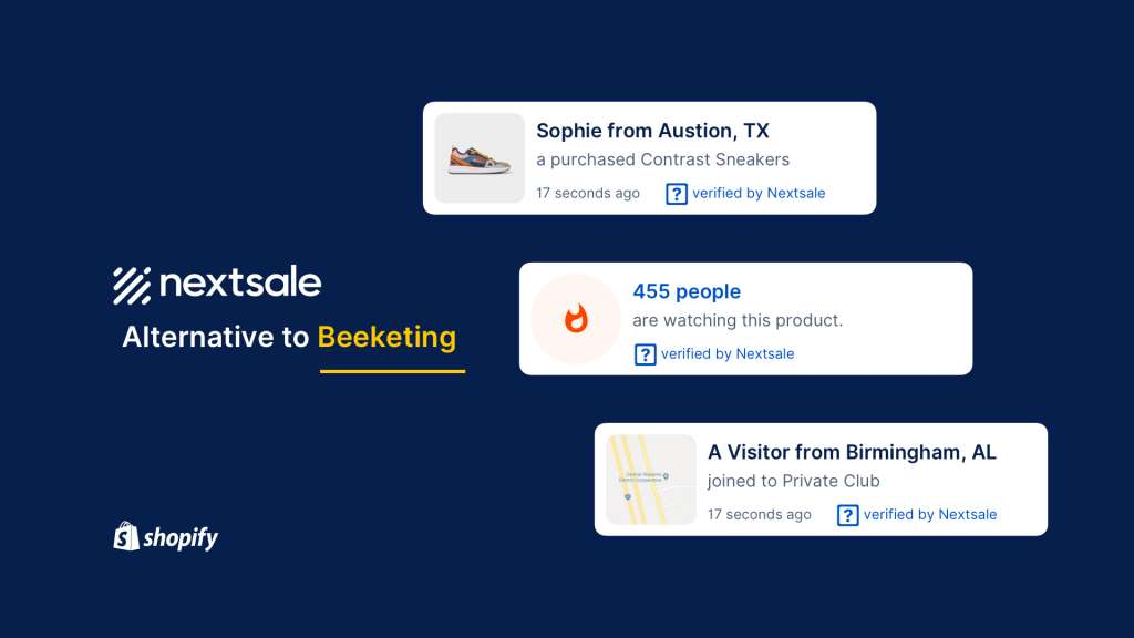Nextsale as the best alternative to Beeketing