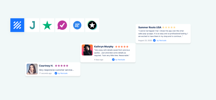 Add product reviews to social proof notifications